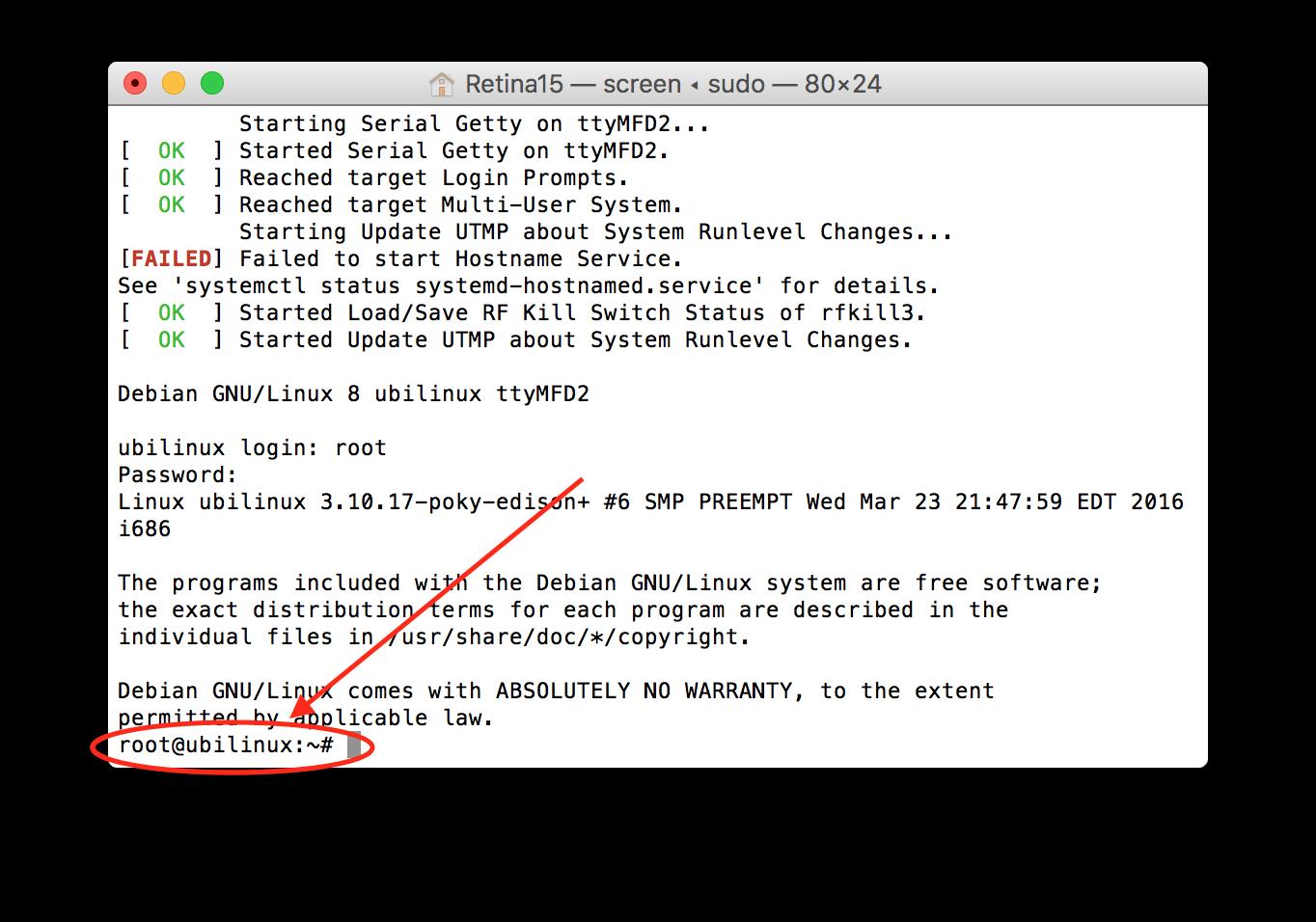 Setting up Edison/Explorer Board on a Mac — OpenAPS 0 0 0